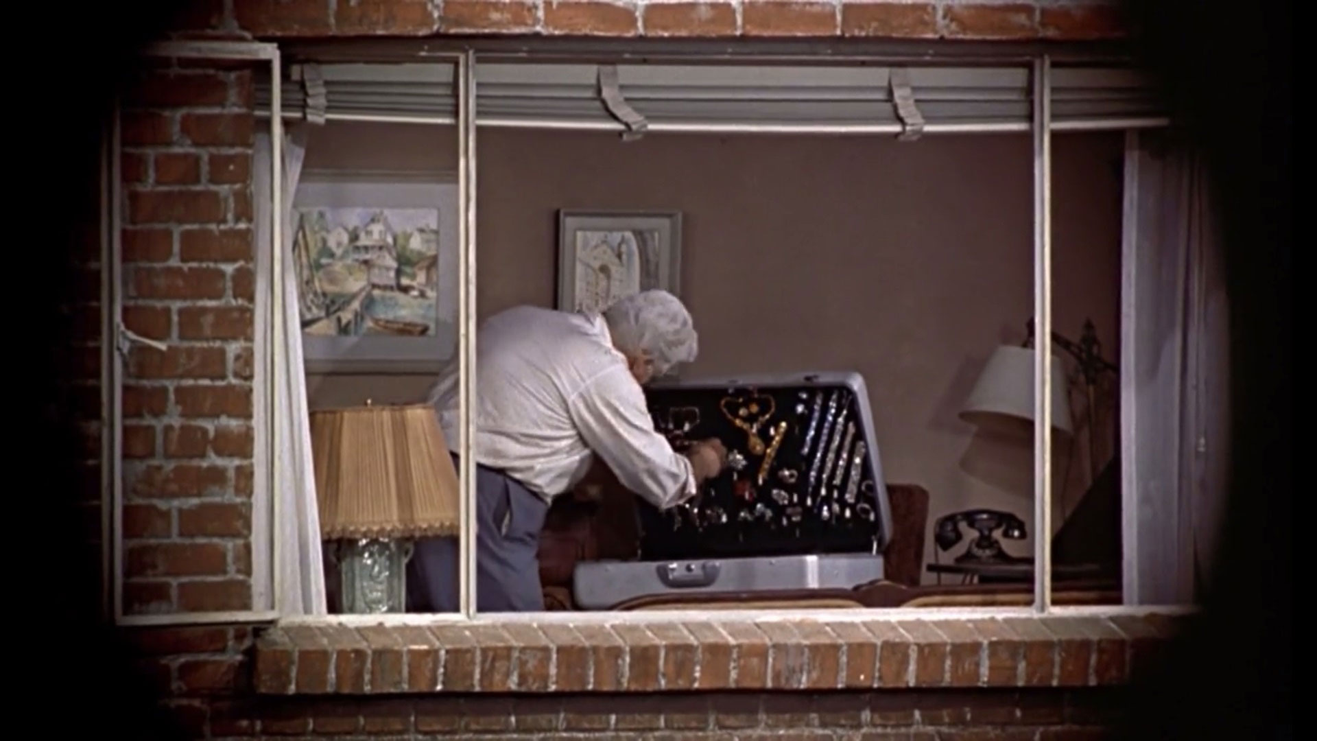 an analysis of the movie rear window Free rear window papers rear window, alfred hitchcock, film analysis]:: 9 works first like the rear view mirror in a car one is always looking in it to.